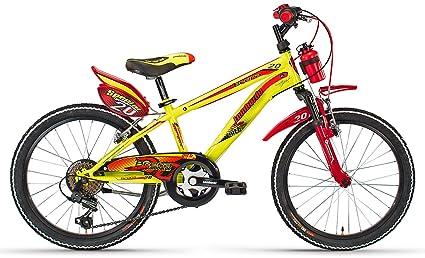 Cicli Lombardo Bici Mtb 20 BRERA 6v Yello/Red ML20