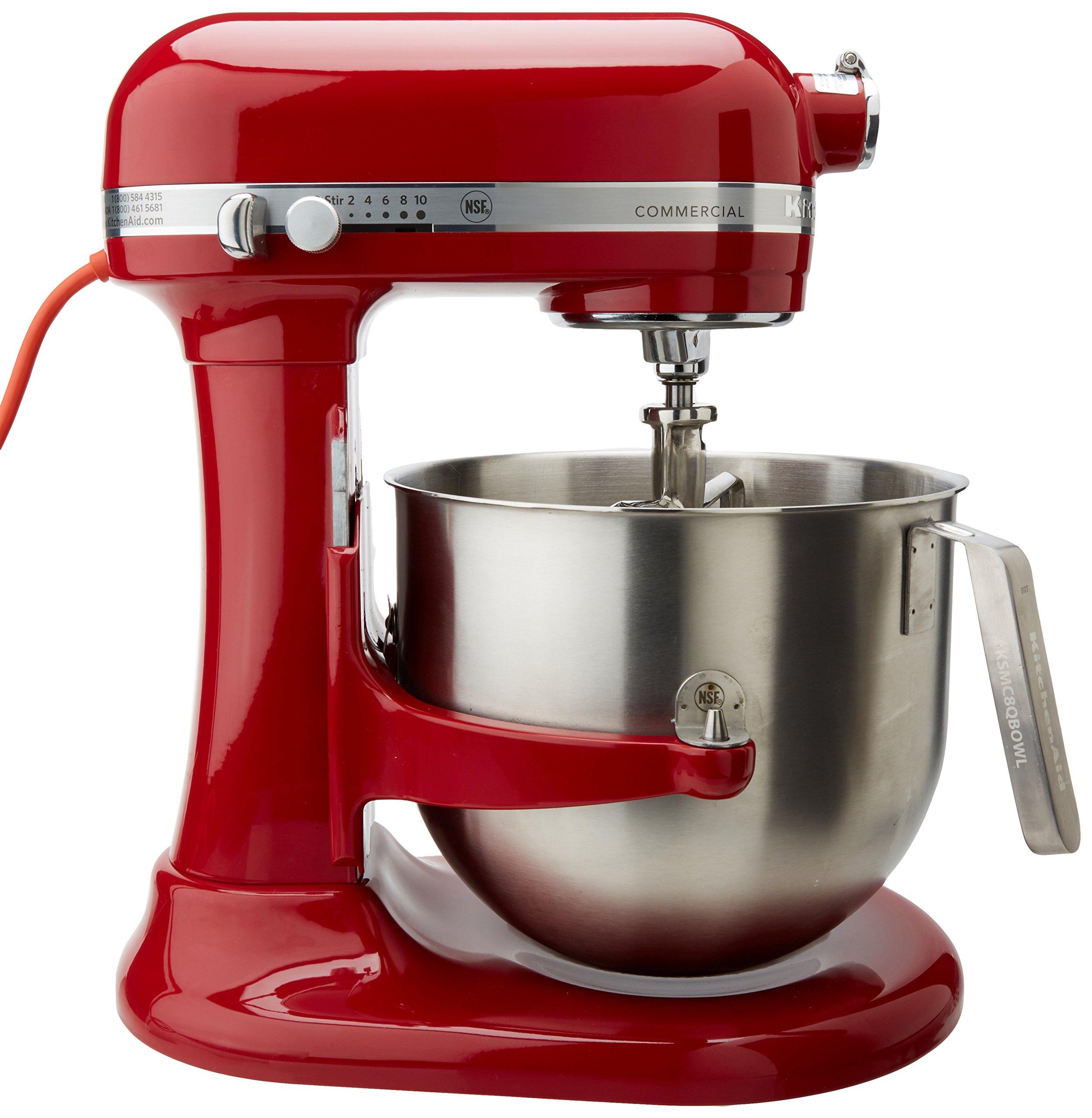 Galleon Kitchen Aid Ksm8990er Kitchenaid Ksm8990er 8 Qt Commercial Bowl Lift Stand Mixer