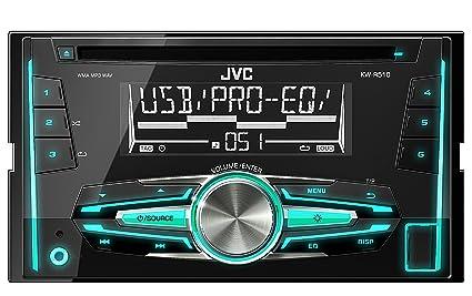 JVC KW-R510E Autoradios Bluetooth, En Façade