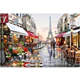 DIY Paint by Numbers Kit for Adults, Kids Beginner - Paris Street 16