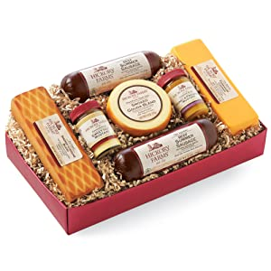 Summer Sausage and Cheese Gift Box – Hickory Farms