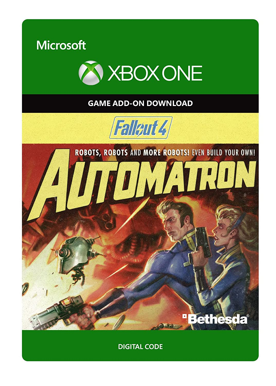 Fallout 4: Automatron - Xbox One (Digital Code)
