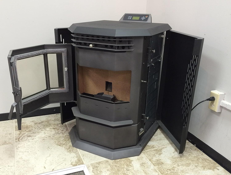 Pellet stove 50 000 btu hp22 by comfortbilt review kitch lit - Pellet stoves clean comfort ...