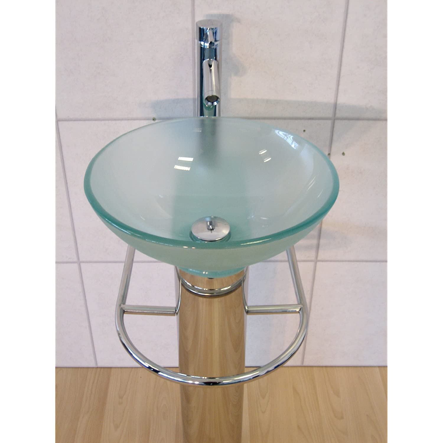 Fittings For Glass Wash Basin Table