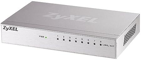 ZYXEL ZY-GS108A ZyXEL Dimension GS-108A Commutateur 8 ports EN, Fast EN, Gigabit EN 10Base-T, 100Base-TX, 1000Base-T