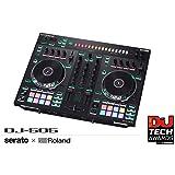 Roland Two-channel, Four-deck Serato DJ Controller (DJ-505) (Color: Black)