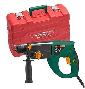 MeisterCraft MPMB950E Pneum. Bohrhammer 950 Watt  4 Funktionen  BaumarktKritiken und weitere Infos