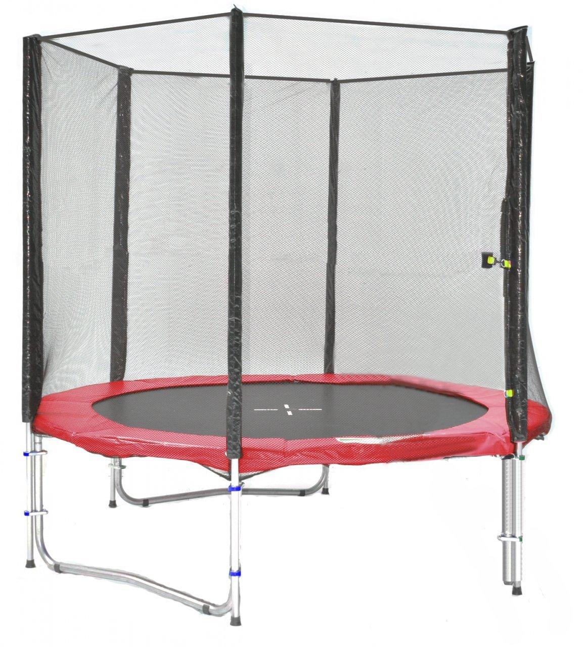 SB-185-R Professionell Gartentrampolin 185cm incl. Netz, 90kg Traglast günstig online kaufen