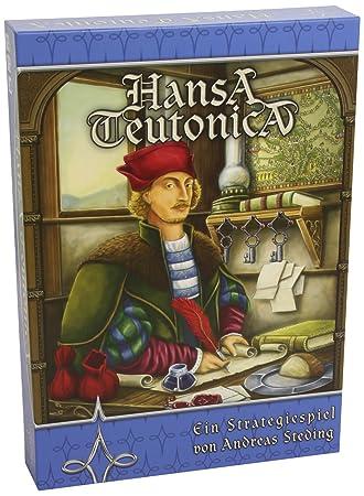 """Argentum Verlag - ARG00009 - Jeu de société """"Hansa Teutonica"""" - Langue: allemande"""