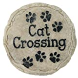 Spoontiques Cat Crossing Stepping Stone