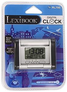 Lexibook RL705 - Despertador digital de viaje   revisión y más información