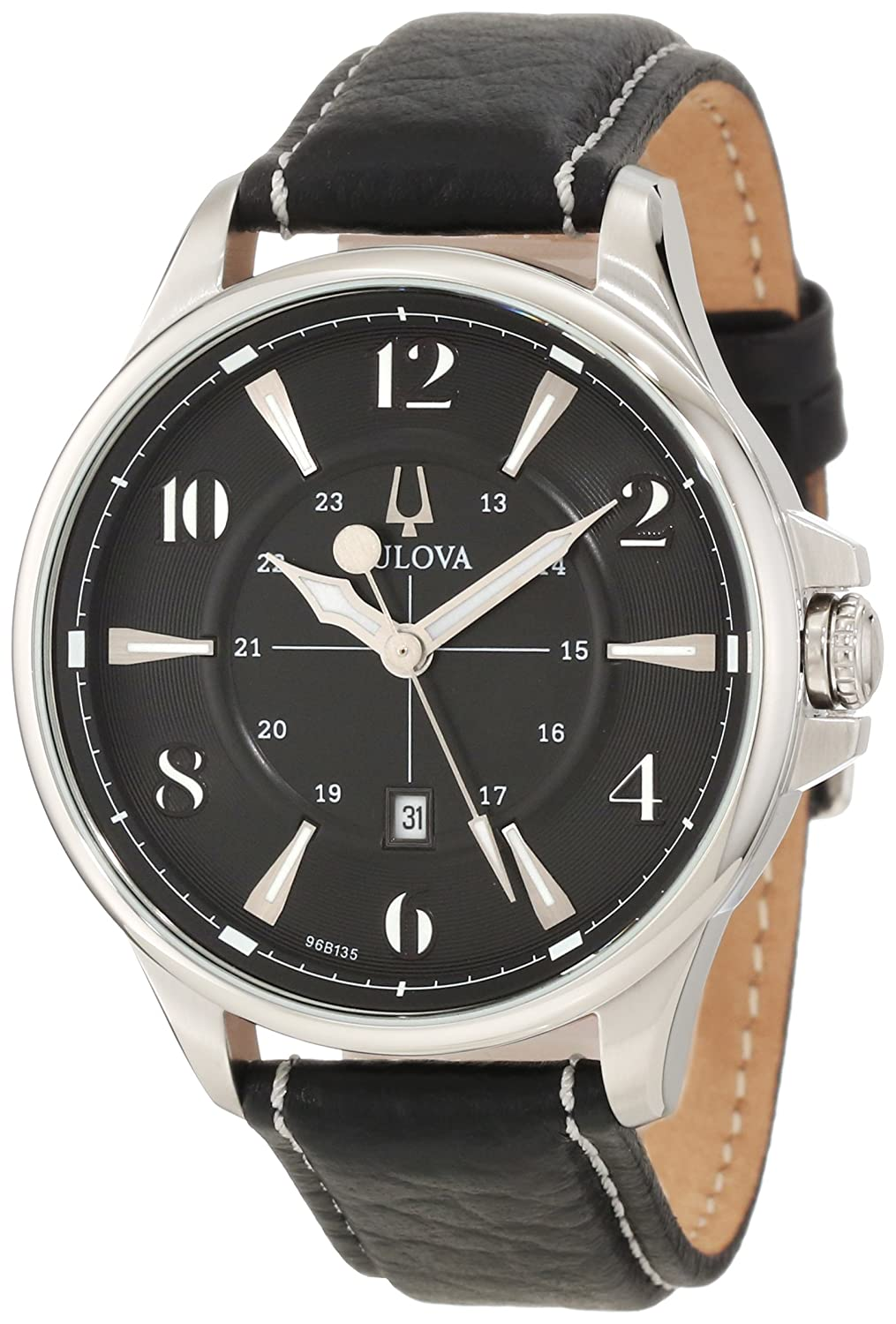 Bulova Men&#8217;s 96B135 Adventurer Strap Watch $112.08