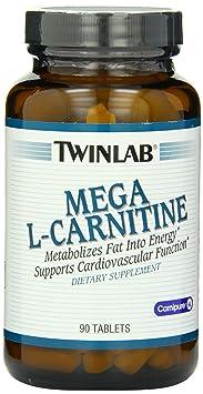 Twinlab Mega L-Carnitine 90 Tabs