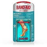 Band-Aid Brand Hydro Seal Blister Cushion Bandages, Waterproof Adhesive Pads, Medium, 5 ct (Tamaño: Medium)