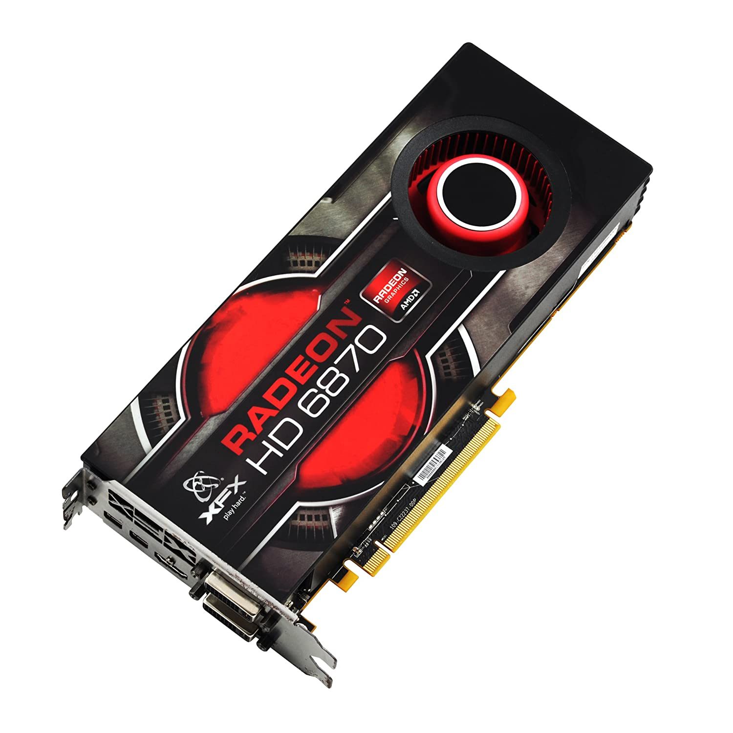 XFX Radeon HD 6870 1 GB DDR5 Graphics Card HD687AZNFC