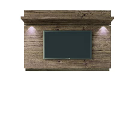 Manhattan Comfort Park 1.8 TV Panel with LED Lights in Nature