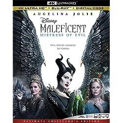 MALEFICENT: MISTRESS OF EVIL [4K Ultra HD + Blu-ray]