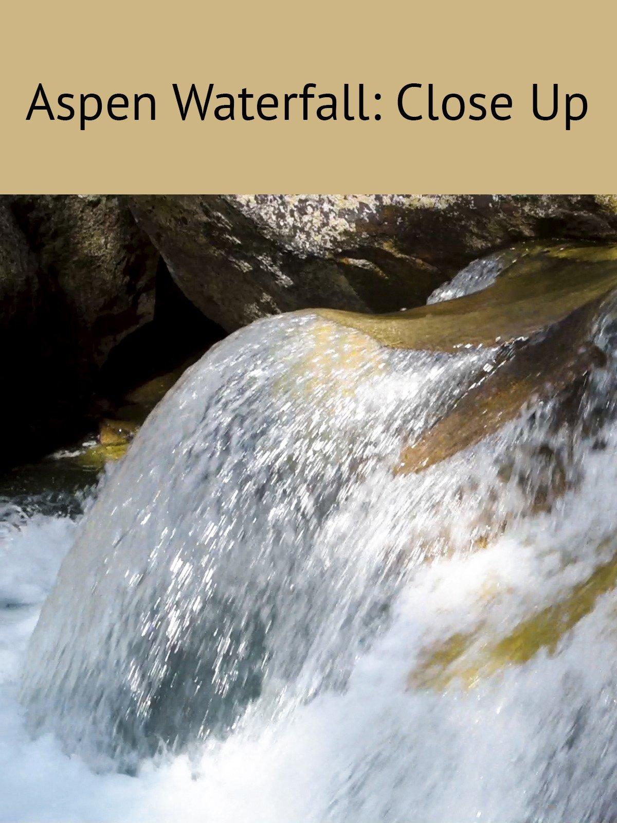 Aspen Waterfall