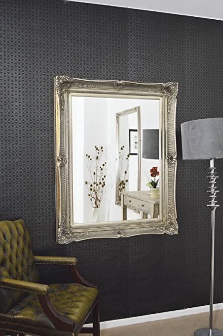 Glamorous Antique Style Wall Mirror 4Ft3 X 3Ft5