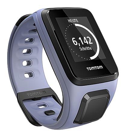 TomTom Spark - Montre Fitness GPS - Bracelet Fin Violet (ref 1RE0.002.05)