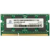 Adamanta 8GB (1x8GB) Laptop Memory Upgrade DDR3/DDR3L 1600Mhz PC3L-12800 SODIMM 2Rx8 CL11 1.35v Notebook RAM DRAM (Tamaño: 8 Gb)