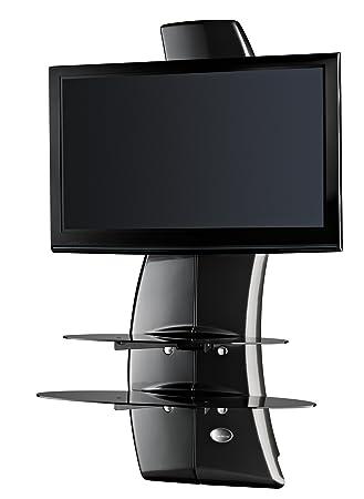 Meliconi Ghost Design 2000 (488067) Supporti TV tipo Muro (colore: Carbonio)