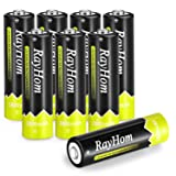 RayHom AA Rechargeable Batteries 2800mAh Ni-MH Battery (8 Pack)