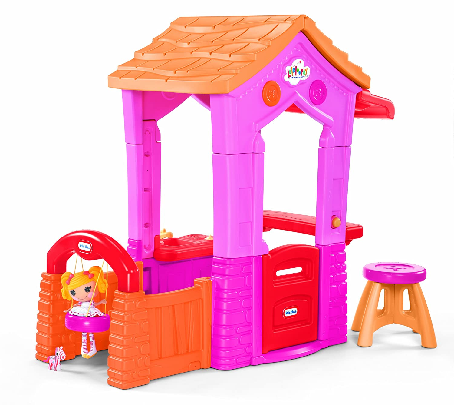 An Image of Little Tikes Lalaloopsy Sew Cute Playhouse