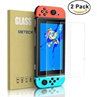 2 Pack Reteck Nintendo Switch Tempered Glass Screen Protector