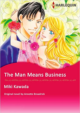 THE MAN MEANS BUSINESS (Harlequin comics) written by Annette Broadrick