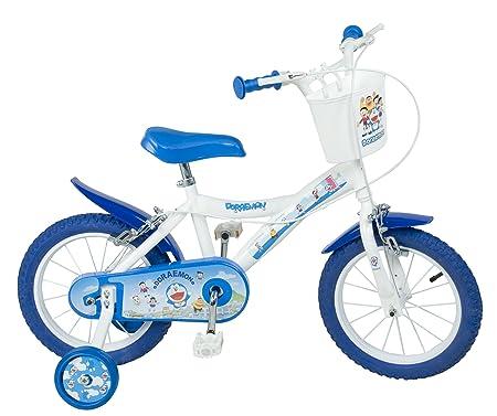 """Toimsa - 1454 - Vélo pour Enfant - Doraemon - Garçon - 14"""" - 4 à 7 ans"""