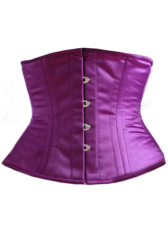 Taillenkorsett aus Satin – Violet jetzt kaufen