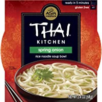 36-Pack Thai Kitchen Gluten-Free Spring 2.4 oz. Onion Rice Noodle Soup Bowl