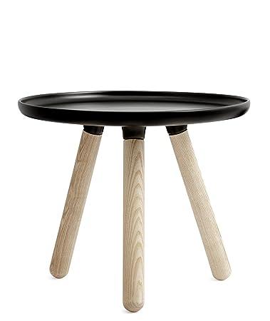 Normann Copenhagen Tavolino Tablo Table Rotondo Piccolo, Nero
