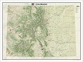 Colorado [Laminated] (National Geographic Reference Map)