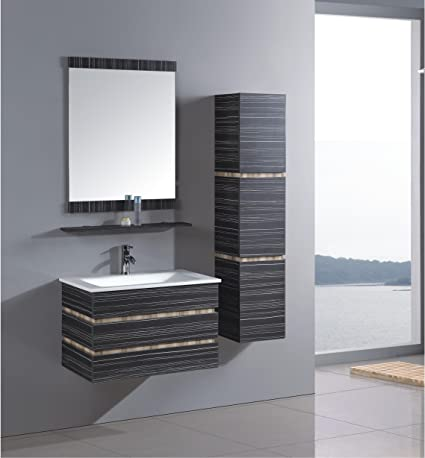 MODERN BATHROOM FURNITURE BATHROOM BATHROOM FURNITURE VANITY MIRROR INCLUDED FITTING + PUSH UP (21305)