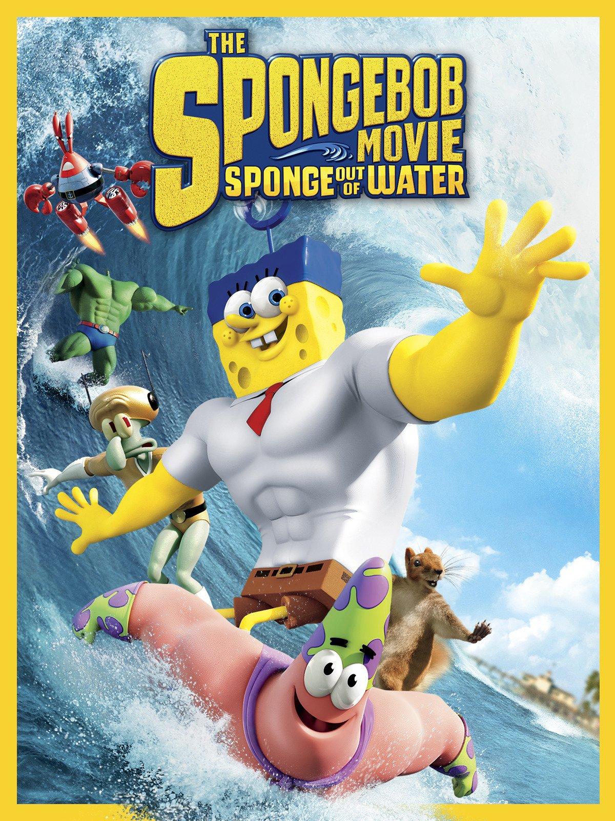 The Spongebob Movie: Sponge Out of Water on Amazon Prime Video UK