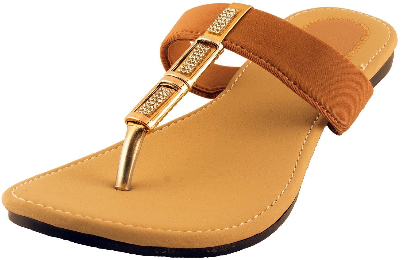 Womens sandals flipkart - Karat Gold Women S Synthetic Slippers Ladies Slippers Brown Rs 299 00 62 Off Flipkart Coupons