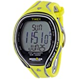 TIMEX Iron monthly network 250 lap tap screen full size neon yellow T5K589 men