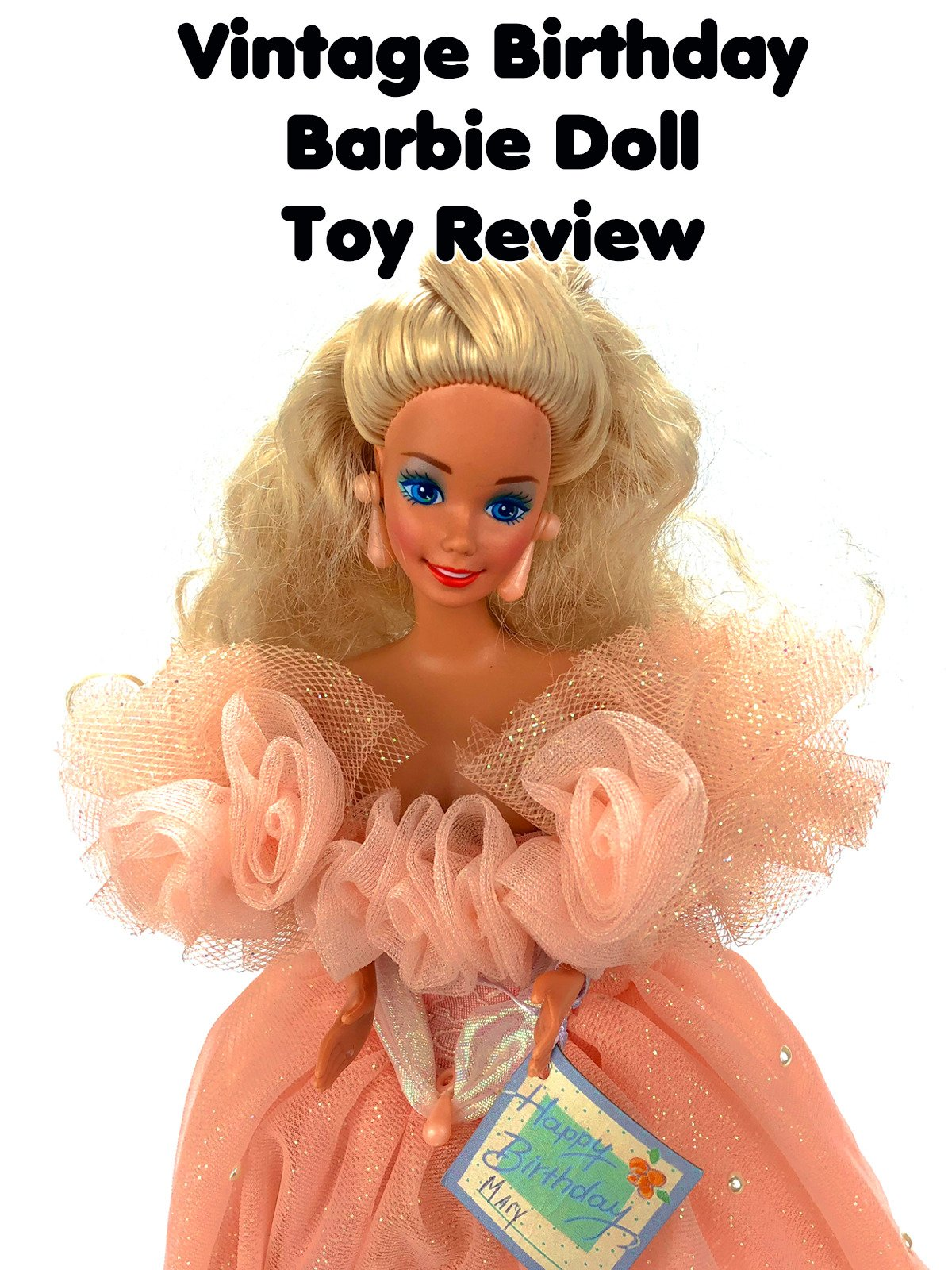 Review: Vintage Birthday Barbie Doll Toy Review on Amazon Prime Video UK