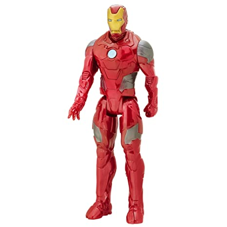 Marvel Avengers – Titan Hero Series – Iron Man Armure de Combat – Figurine 30 cm