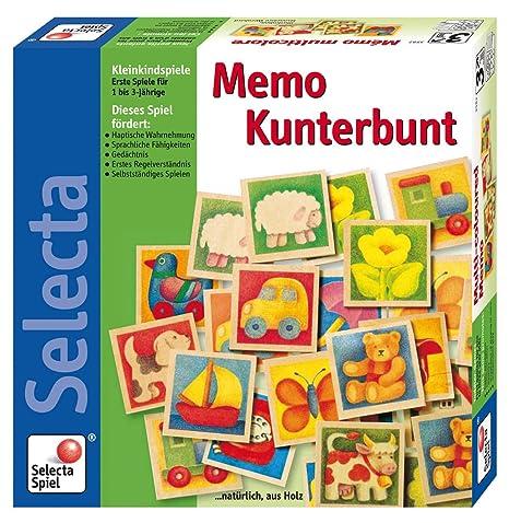 Selecta - 3582 - Jeu de Société Éducatif - Mémo Multicolore