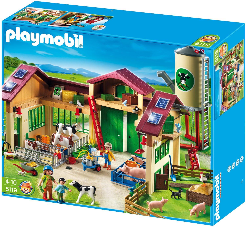 PLAYMOBIL® Neuer Bauernhof mit Silo (5119)