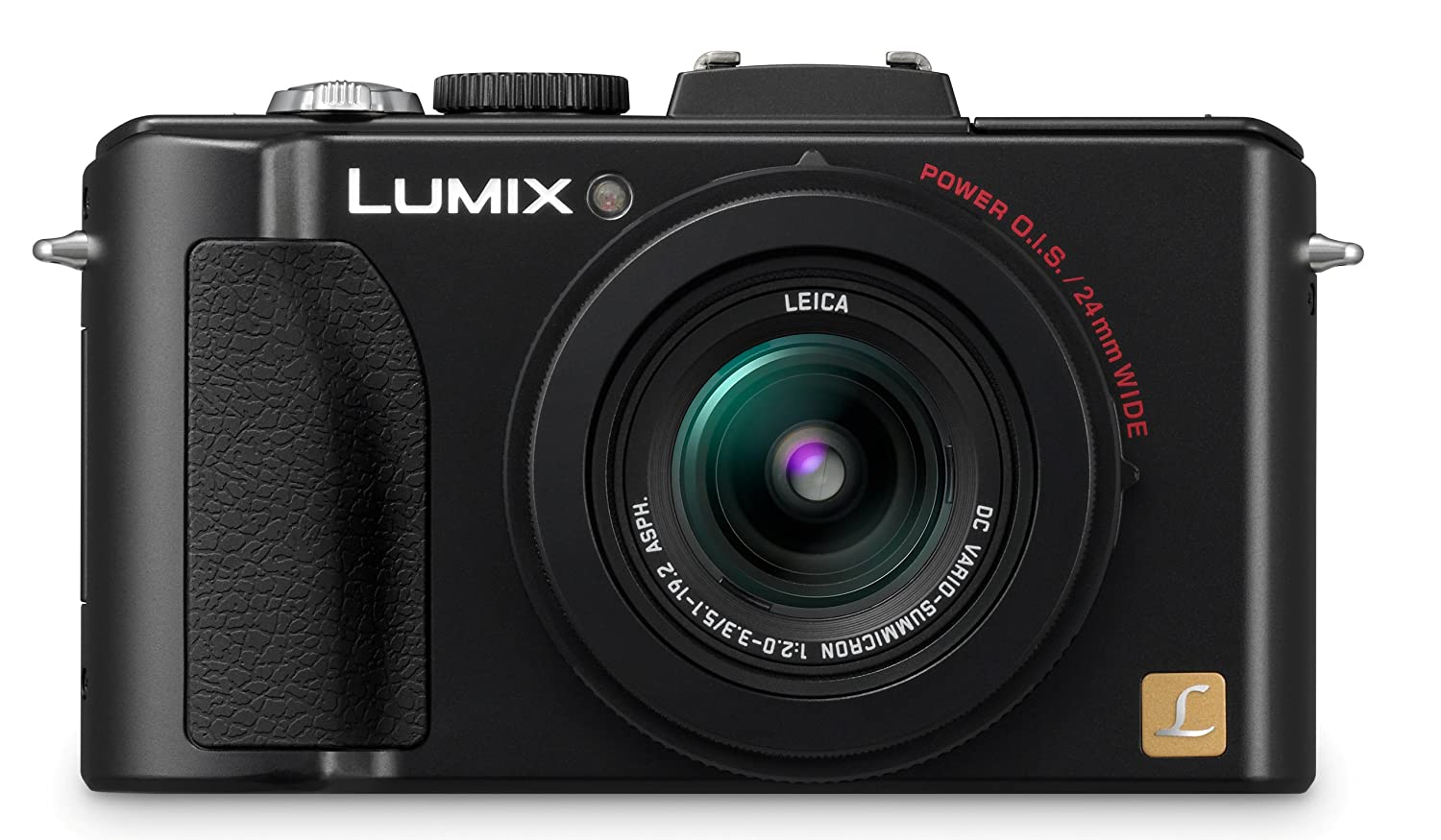 Panasonic Lumix DMC-LX5 10.1 MP Digital Camera with 3.8x Optical Image Stabilized Zoom and 3.0-Inch LCD – Black