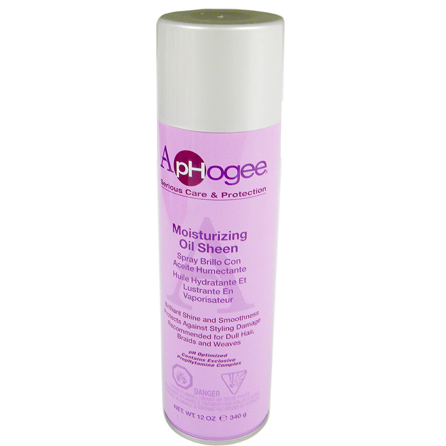Aphogee Moisturizing Oil Sheen Spray 12oz