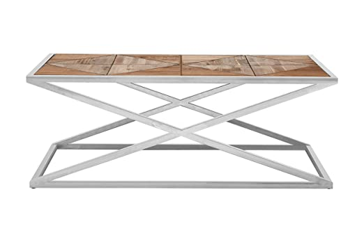 Premier Housewares Hudson Coffee Table, Wood, Natural