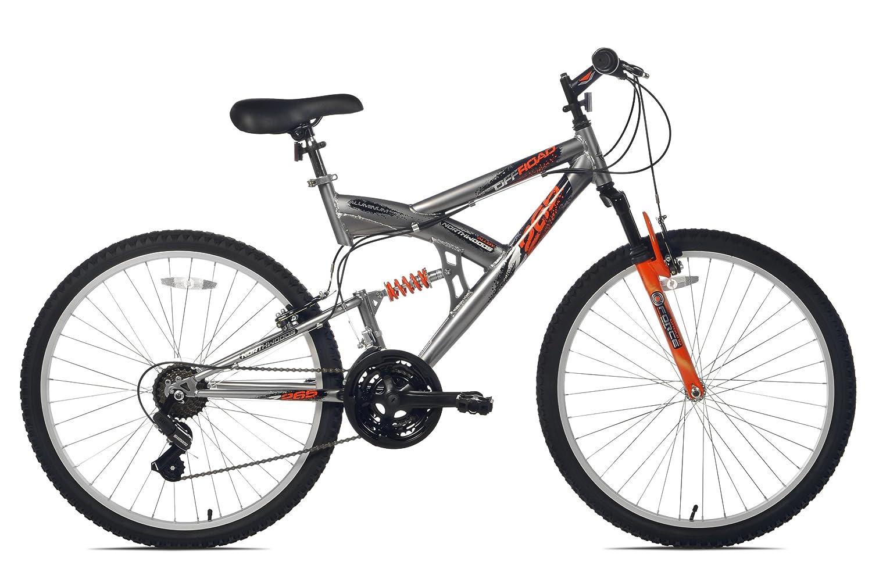 Amazon.com : Northwoods Aluminum Full Suspension Mountain Bike : Hardtail Mountain Bicycles