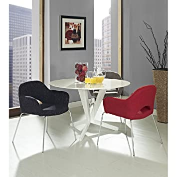 LexMod Saarinen Style Armchair Set
