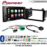 Volunteer Audio Pioneer AVH-1440NEX Double Din Radio Install Kit with Apple CarPlay, Bluetooth, HD Radio Fits 2005-2007 Volvo S60, V70, XC70