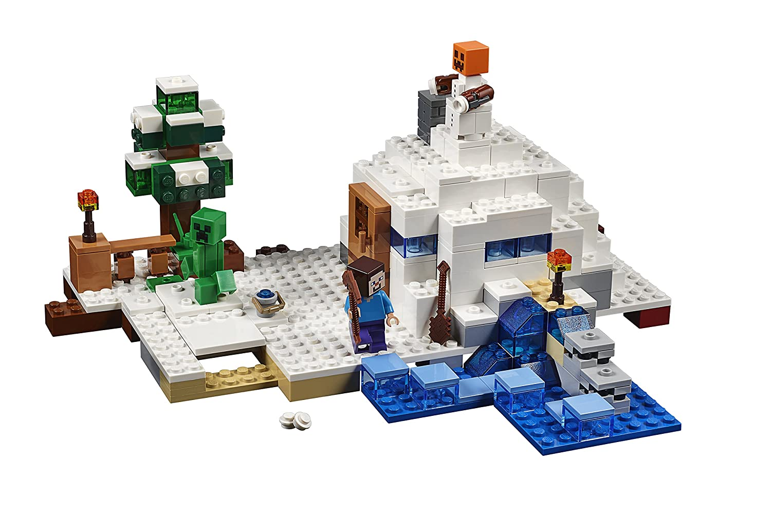 LEGO Minecraft the Snow Hideout 21120 Review